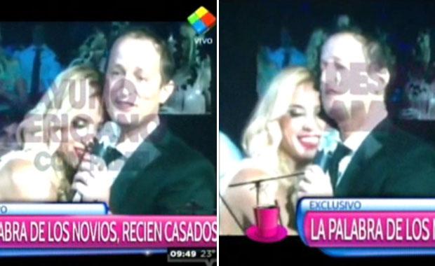 El apasionado discurso de Jésica Cirio y Martín Insaurralde en su boda: