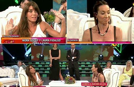 Mora Godoy y Laura Fidalgo, cara a cara en Este es el show: qué se dijeron