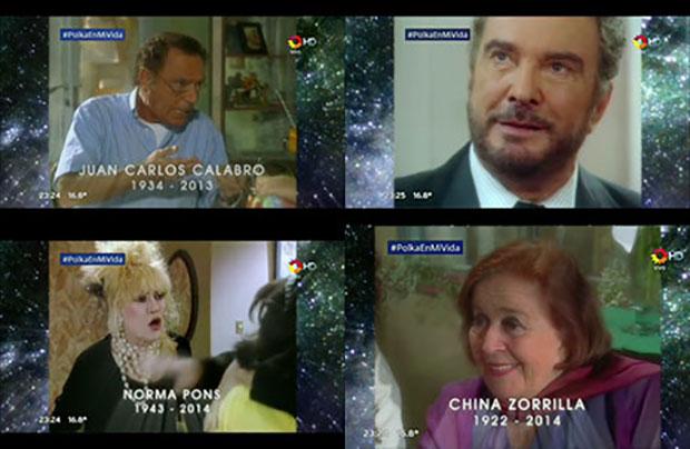 Momento emotivo: el video homenaje de Pol-ka a los actores fallecidos