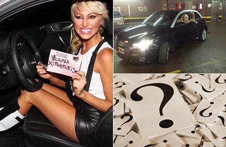 Victoria contó quién le había regalado su auto de alta gama
