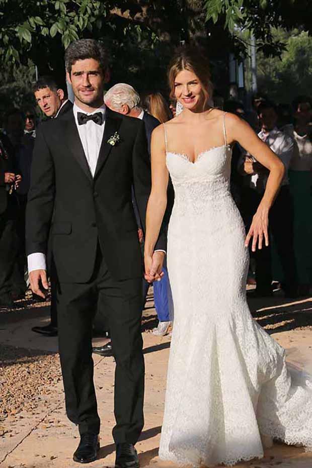 marcela kloosterboer es la famosa con el vestido de novia más lindo