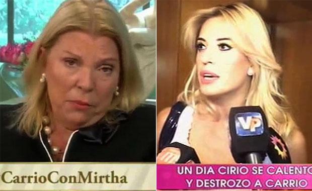 Jésica Cirio le respondió a Lilita Carrió: Me da vergüenza tener una diputada así