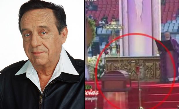 Apareció un supuesto fantasma en el funeral de Chespirito