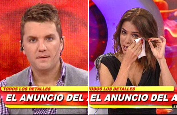 Santiago del Moro anunció su ida de Infama y Marina Calabró lloró en vivo
