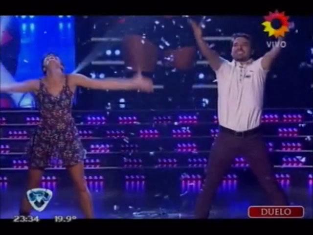 ShowMatch: la coreografía de Pedro Alfonso antes de la gran final