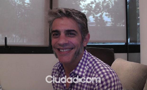 Pablo Echarri en un mano a mano imperdible con Ciudad.com