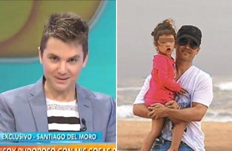 Santiago del Moro y una divertida anécdota sobre una frase que le repite todos los días a su hija Catalina: el video