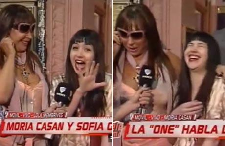Sofía Gala reapareció en TV a dos semanas de haber sido mamá: