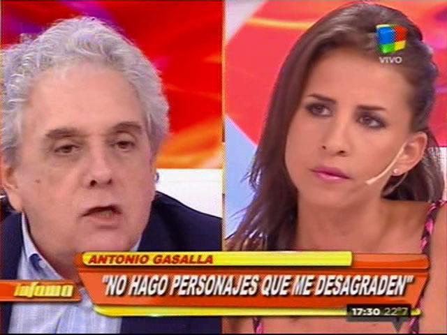 El incómodísimo diálogo de Antonio Gasalla con una panelista del nuevo Infama