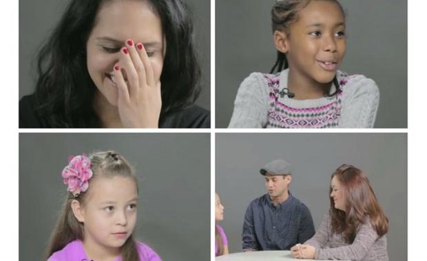 La reacción de los niños a la verdad sobre cómo vienen los bebés al mundo