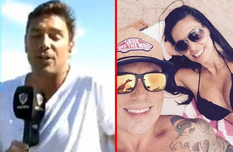 Matías Alé habló de la selfie que le provocó enojo y celos: Sabrina Ravelli en la playa con Fede Bal