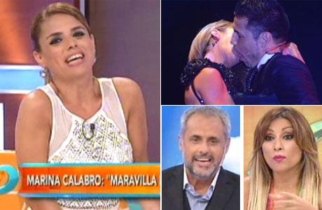 Marina Calabró le bajó el pulgar a Maravilla Martínez: