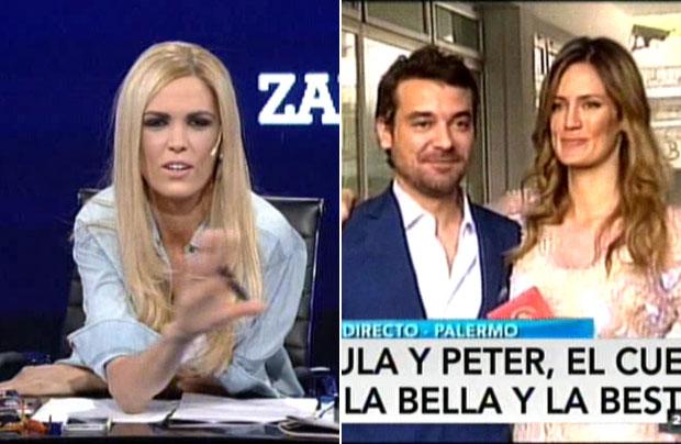 Canosa aclaró sus dichos sobre Paula y Peter… y contó por qué descreía de la relación