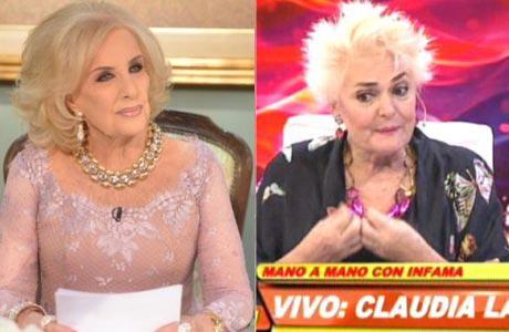 Claudia Lapacó y el motivo que la dejó afuera de los almuerzos de Mirtha: