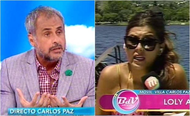 Loly Antoniale y el polémico audio de Rial peleándose con un periodista cordobés que la criticó
