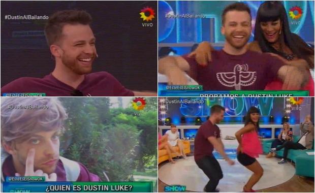 Dustin Luke, el exitoso Youtuber que imita a los argentinos, en camino al Bailando 2015