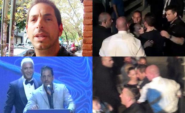 Escándalo en los Premios Estrella de Mar con Ariel Diwan: empujones y manotazos detrás del escenario