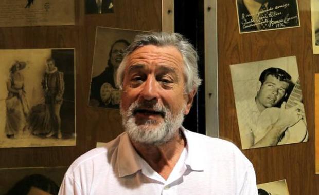 El video que Robert De Niro grabó en la Casa del Teatro