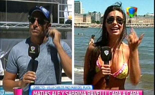 Matías Alé y Sabrina Ravelli, una ruptura sellada cara a cara: fuertes reproches en TV