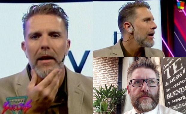 Alejandro Fantino bromeó sobre su nuevo look de barba