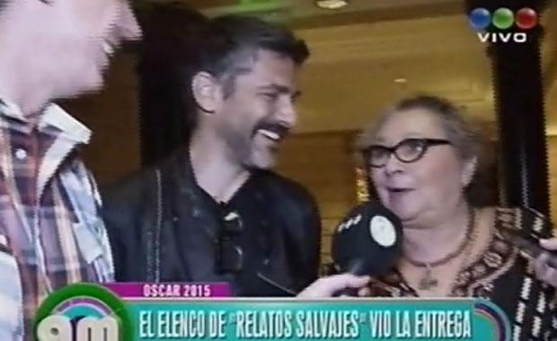 Relatos Salvajes: Leonardo Sbaraglia y Rita Cortese hablan de los Oscar