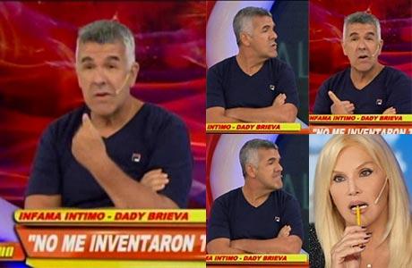 La particular respuesta de Dady Brieva cuando le preguntaron en Infama por la vuelta de Susana Giménez al teatro