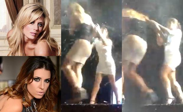El video de la escandalosa pelea entre Rocío Marengo y Mariana Brey