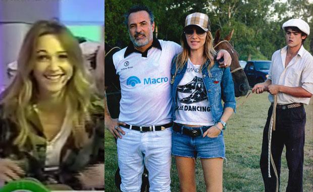 Vero Lozano y una divertida perlita en el partido de polo de Corcho Rodríguez