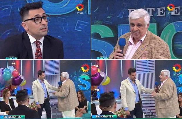 Este es el show: tenso cruce de Franco Torchia con Alberto Samid