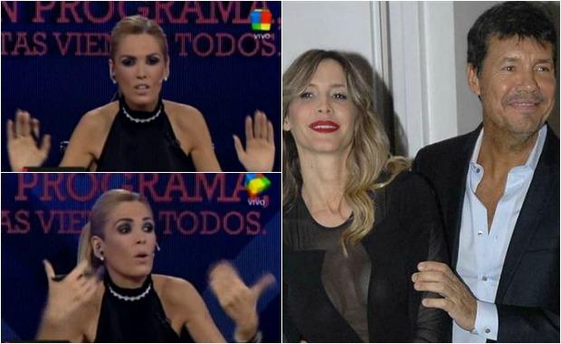 Viviana Canosa puso en duda el origen del rumor de la separación de Marcelo Tinelli y Guillermina Valdés