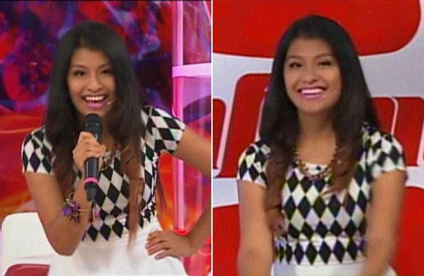 Wendy Sulca se presentó en Infama