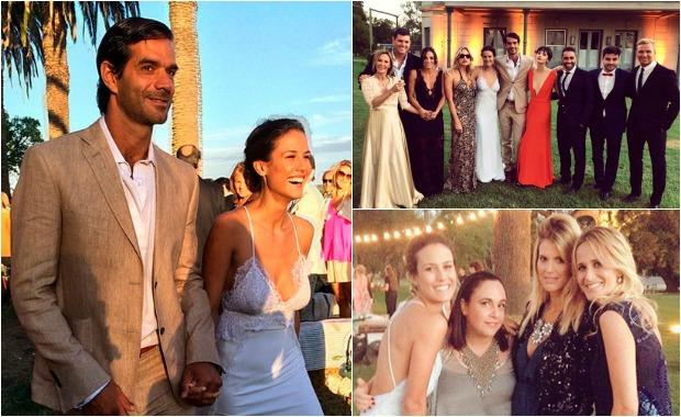 La boda de Luli Fernández con el abogado Cristian Cúneo Libarona