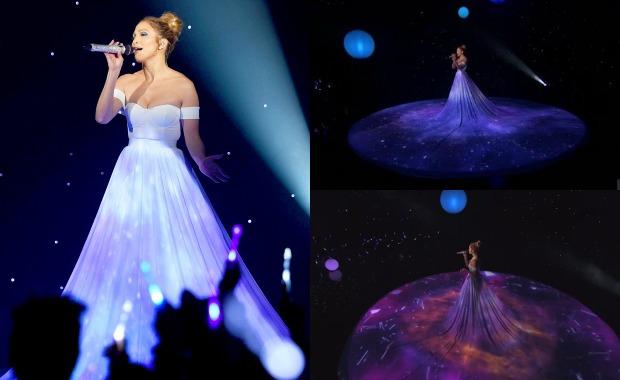 Jennifer Lopez sorprende en American Idol con un vestido muy especial