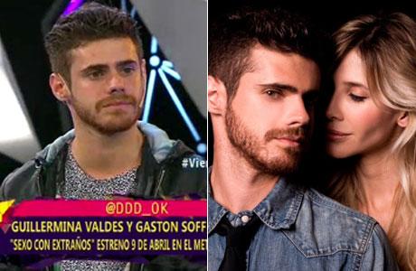 Gastón Soffritti, sobre los rumores que lo vinculan a Guillermina Valdés: