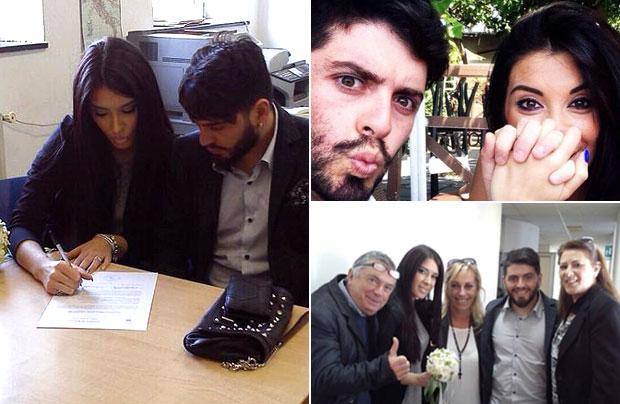 Diego Maradona Junior contraerá matrimonio con su novia italiana