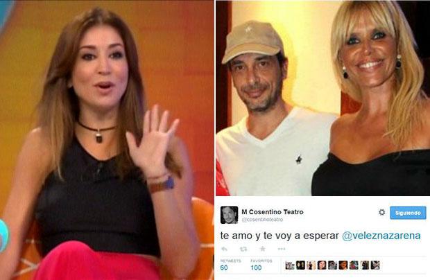 La novia de Cosentino reveló por qué el director le declaró su amor por Twitter a Nazarena