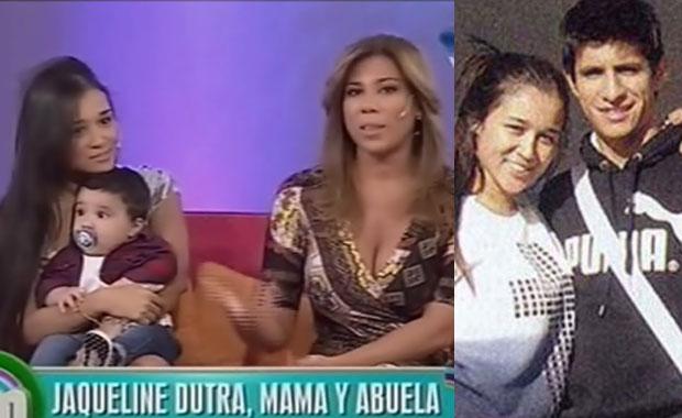 Jaqueline Dutrá, su hija y la difícil tarea de ser madre soltera