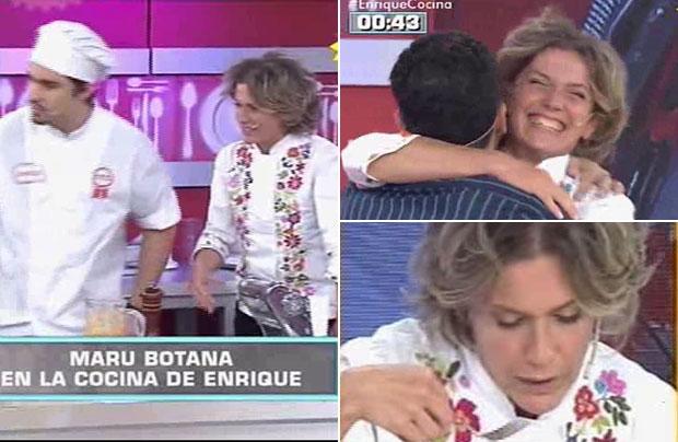 Maru Botana fue la jueza invitada en El mejor de la cocina