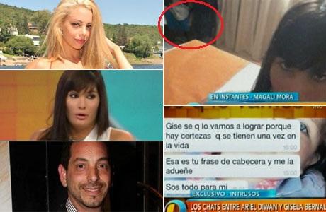 Gisela Bernal y su reacción en Twitter cuando Magalí Mora confesó que estuvo con Ariel Diwan
