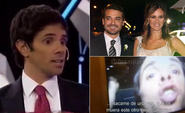 Funes Ugarte, filoso tras sus críticas al casamiento de Paula y Peter: