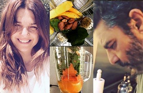 El nutritivo desayuno de Araceli González ¡preparado por Fabián Mazzei en una licuadora!: mirá cómo se hace