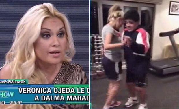 La chicana de Verónica Ojeda a Rocío Oliva en Este es el Show