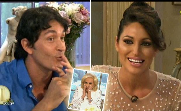 Victoria Xipolitakis reveló un inusual encuentro con Sebastián Estevanez… ¡en un baño!: