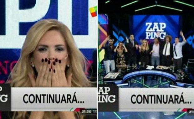 La despedida de Viviana Canosa en Zapping