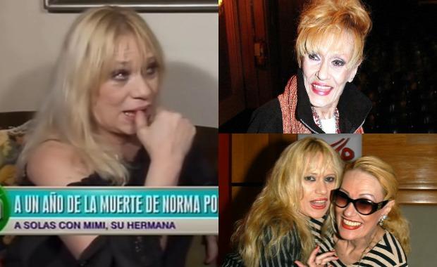 Mimí Pons recordó a Norma Pons a un año de su muerte