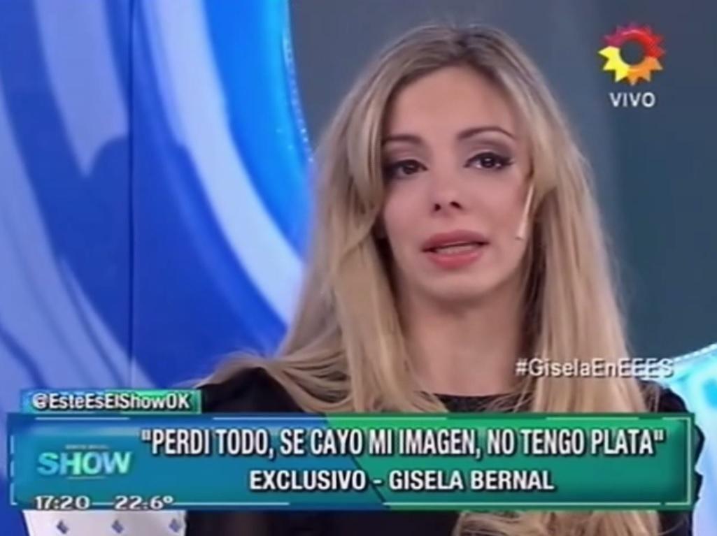 Gisela Bernal en Este es el Show 2