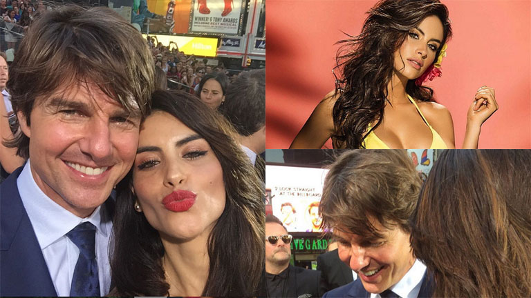 Jessica Cediel Tom Cruise