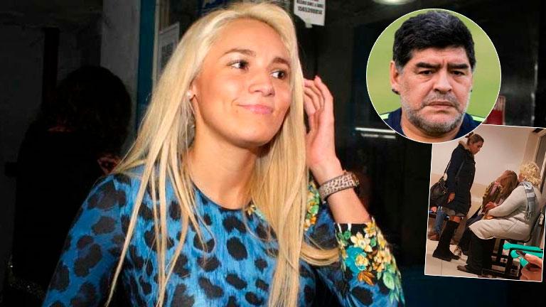 Resultado de imagen para Dónde está Rocío Oliva mientras Diego Maradona se encuentra en el Mundial de Rusia