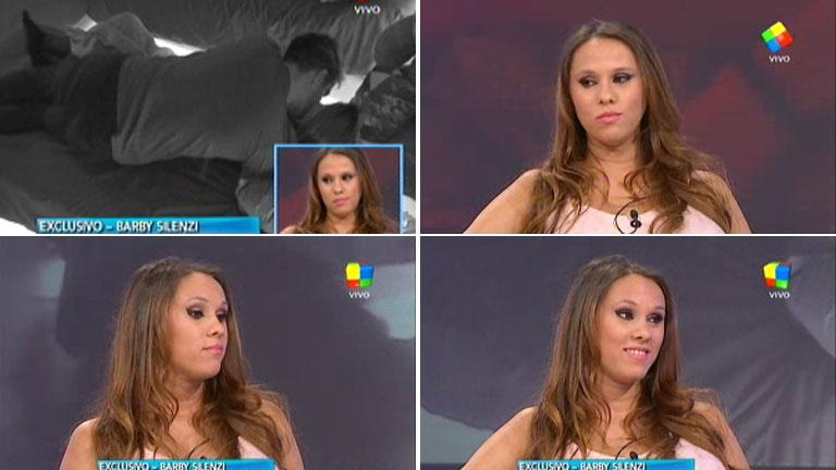 Bárbara Silenzi, dolida por el beso de Francisco Delgado a Romina en Gran Hermano 2015
