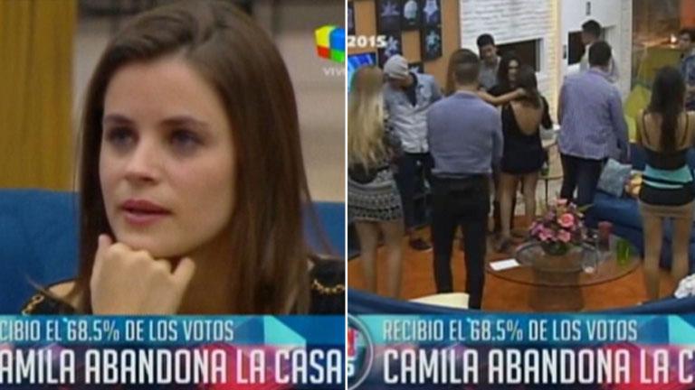 Camila, la segunda expulsada de la casa de Gran Hermano 2015